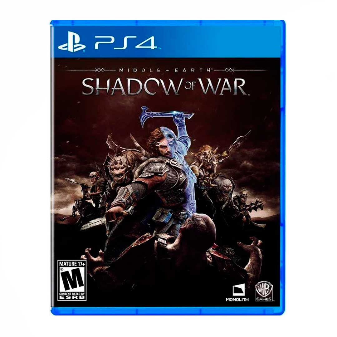 Juego middle earth: shadow of war ps4