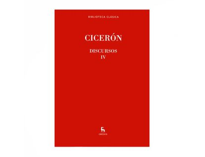 ciceron-discursos-iv-9788447384938
