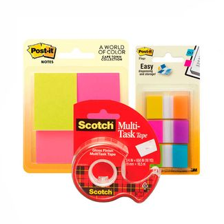 combo-notas-post-it-653-banderitas-1-6-colores-cinta-cristal-7701016060165