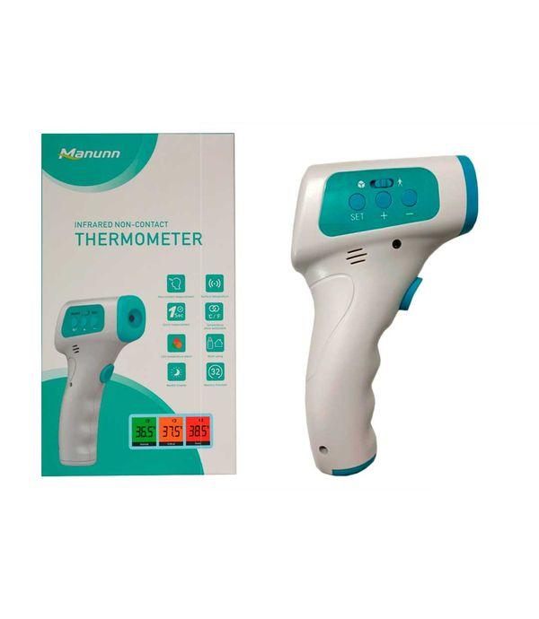 Termometro Digital Infrarrojo Sin Contacto Panamericana Termometro digital infrarrojo a distancia bebe niño adulto. termometro digital infrarrojo sin contacto