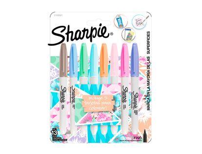 marcadores-sharpie-tonos-pastel-por-8-unidades-tarjetas-71641175822