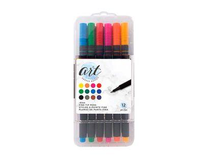 set-de-marcadores-x-12-unidades-punta-fina-american-crafts-718813560511