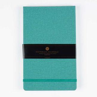 libreta-ejecutiva-vertical-azul-turquesa-con-hojas-rayadas-21-3-x-13-3-cm-7701016057325