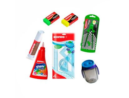 kit-kores-escolar-neon-9023800740564