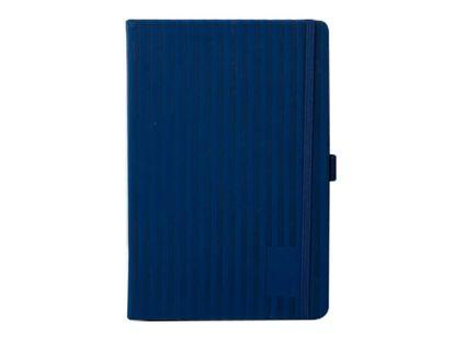 libreta-ejecutiva-20-5-x-14-cm-azul-rayas-7701016880145