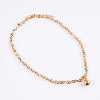 collar-corto-cadeneta-con-dije-esfera-dorada-7701016876872