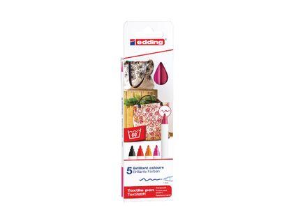 marcador-textil-edding-por-5-unidades-colores-calidos--1-4057305013224