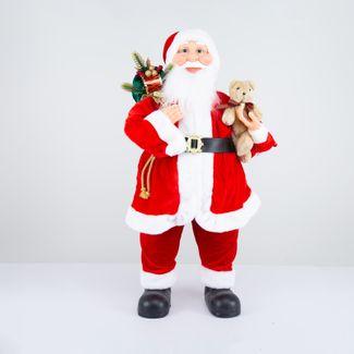 papa-noel-80-cm-abrigo-rojo-con-oso-y-bolsa-de-regalos-verde-7701016800532