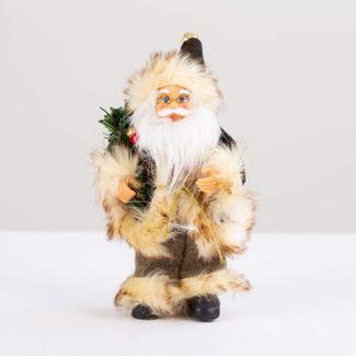 papa-noel-con-abrigo-cobre-y-ramas-verdes-19-cm-7701016901826