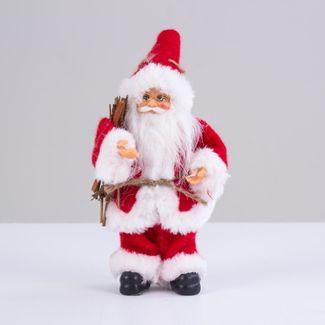 papa-noel-con-abrigo-rojo-y-ramas-cafes-20-cm-7701016901857