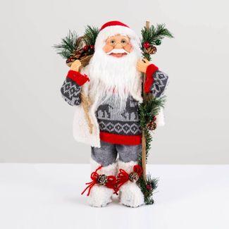 papa-noel-con-chaleco-blanco-y-bolsa-de-regalos-38-cm-7701016902724