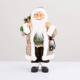 papa-noel-con-abrigo-merry-christmas-bolsa-de-regalos-y-lampara-38-cm-7701016902755