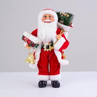 papa-noel-con-abrigo-rojo-bolsa-de-regalo-y-campana-dorada-38-cm-7701016902847