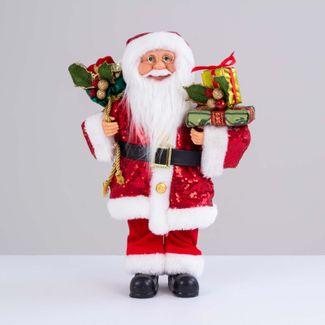 papa-noel-rojo-con-abrigo-de-lentejuelas-y-bolsa-de-regalos-38-cm-7701016902861