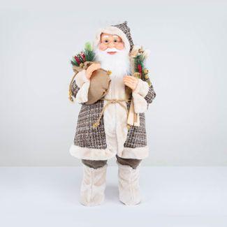 papa-noel-80-cm-abrigo-cuadrado-cafe-con-esquis-y-frutos-rojos-7701016911320
