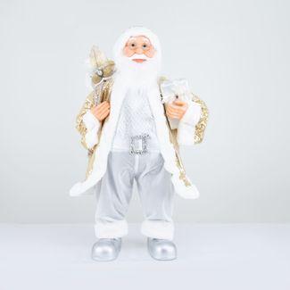 papa-noel-80-cm-abrigo-lentejuelas-dorado-con-bolsa-de-regalos-y-frutos-plateado-7701016911399