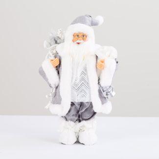 papa-noel-30-cm-abrigo-plateado-con-lampara-y-bolsa-de-regalos-plateado-7701016902151