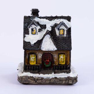 villa-nevada-11-cm-negra-con-luz-led-en-polirresina-7701016945844