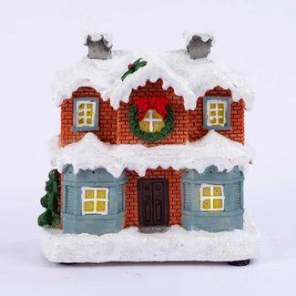 villa-nevada-10-5-cm-roja-con-y-luz-led-en-polirresina-7701016955867