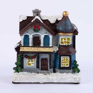 villa-nevada-10-cm-con-balcon-y-luz-led-en-polirresina-7701016981880