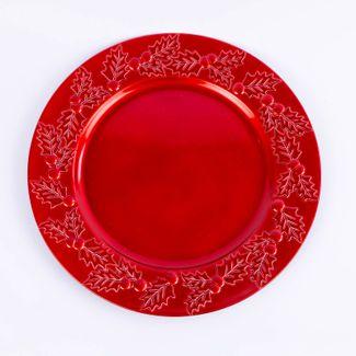 plato-navideno-33-cm-muerdago-rojo-7701016019712