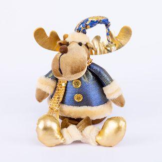 reno-azul-dorado-con-piernas-colgantes-41-cm-7701016952972