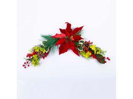 copete-48-cm-poinsettia-vinotinto-con-hojas-verde-blanco-7701016110013