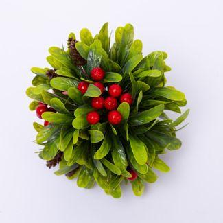 esfera-hojas-verdes-y-frutos-rojos-15-cm-7701016006606