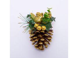 pina-decorativa-con-poinsettia-y-esferas-doradas-7701016008846