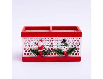 candelabro-navideno-8x-15-6-x-8cms-x2-unds-diseno-santa-y-hombre-de-nieve-7701016010856