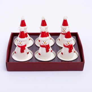 set-de-velas-x-6-und-diseno-hombre-de-nieve-con-gorro-7701016976657