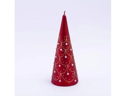 vela-22-5cms-rojo-con-apliques-dorados-y-piedras-blancas-7701016977227