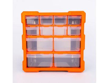 organizador-de-12-compartimientos-27-cm-negro-con-naranja-6942629250104