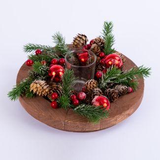candelabro-diseno-cuadro-con-pick-pinas-frutos-rojos-y-porta-vela-7701016966658