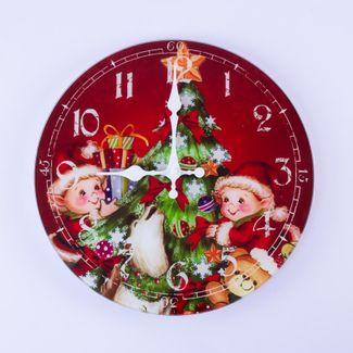 reloj-de-pared-navideno-diseno-arbol-de-navidad-y-duendes-7701016050319