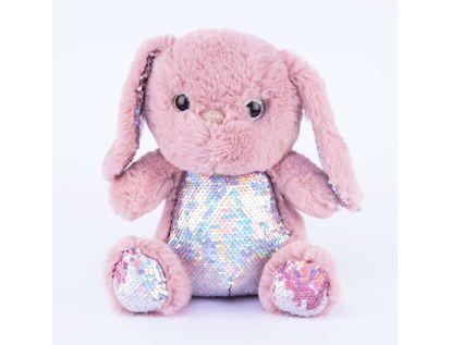 peluche-26-cm-con-lentejuelas-conejo-lavanda-608128