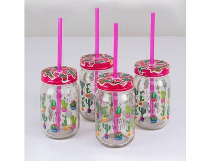 set-de-vasos-en-vidrio-x-4-unidades-con-tapa-y-pitillo-7701016835589