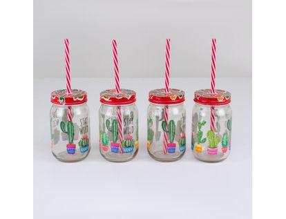 set-de-vasos-en-vidrio-x-4-unidades-con-tapa-y-pitillo-7701016835633