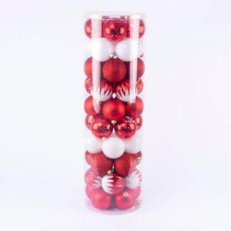set-de-bolas-navidenas-color-rojo-y-blanco-7701016992541