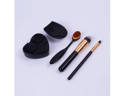set-de-brochas-y-limpiador-facil-x-5-unds-negro-7701016837064