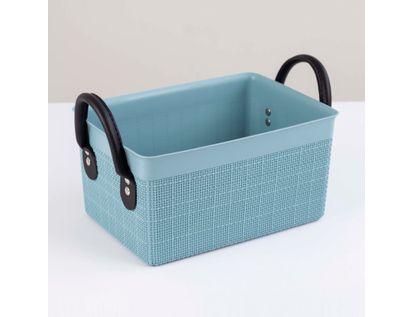 canasta-plastica-organizadora-con-manijas-mediana-gris-verdoso-7701016955478