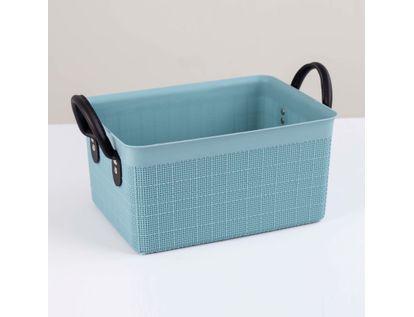 canasta-plastica-organizadora-con-manijas-pequena-gris-verdoso-7701016955485