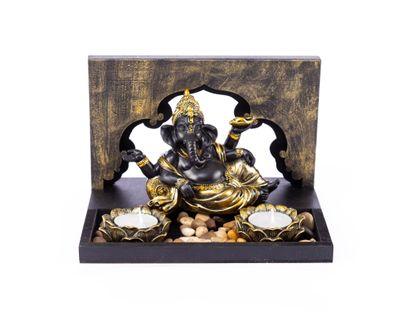 jardin-zen-con-ganesha-con-pantalon-y-turbante-dorados-dos-candelabros-7701016957212
