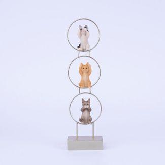 figura-de-3-gatos-sentados-en-aros-haciendo-gestos-32-x-9-cms-7701016996617