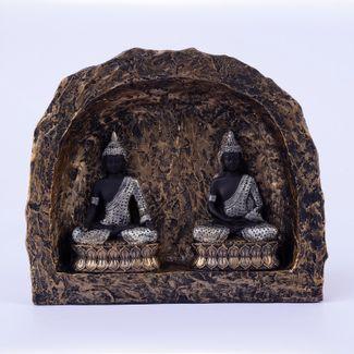 figura-de-budas-meditando-en-cupula-color-negro-con-plateado-19-2-x-12-6-cms-7701016996693