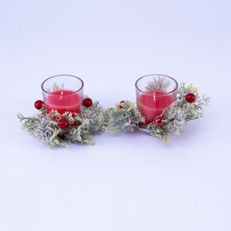 vela-en-candelabro-transparente-de-vidrio-x-2-und-adornada-con-picks-verde-claro-y-frutos-rojos-6-5-x-5-5-cms-7701016035316