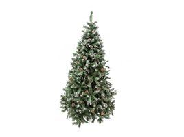 arbol-de-navidad-de-210-cm-y-1372-puntas-verde-y-blanco-con-pinas-7701016002752