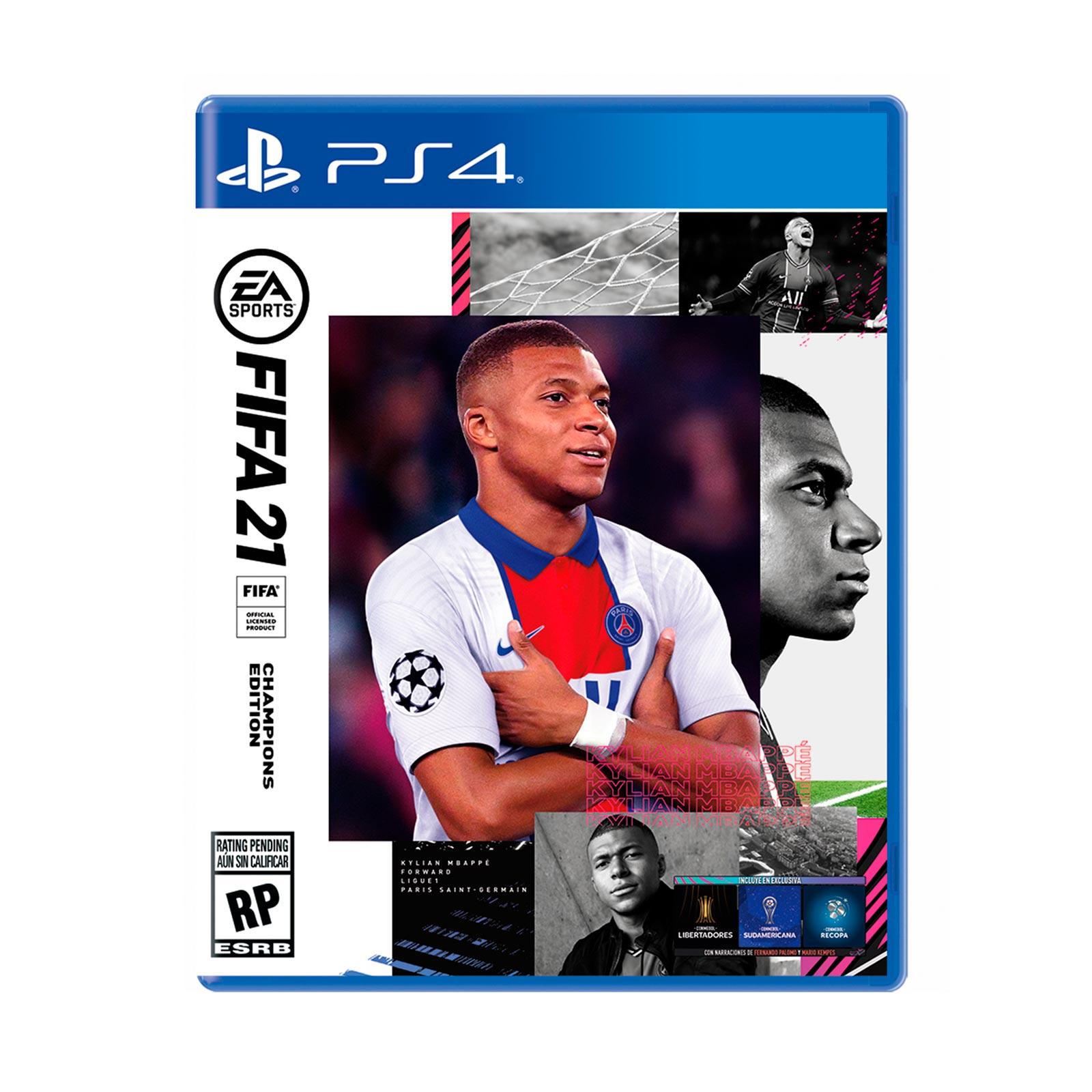 juego fifa 2021 champions ps4