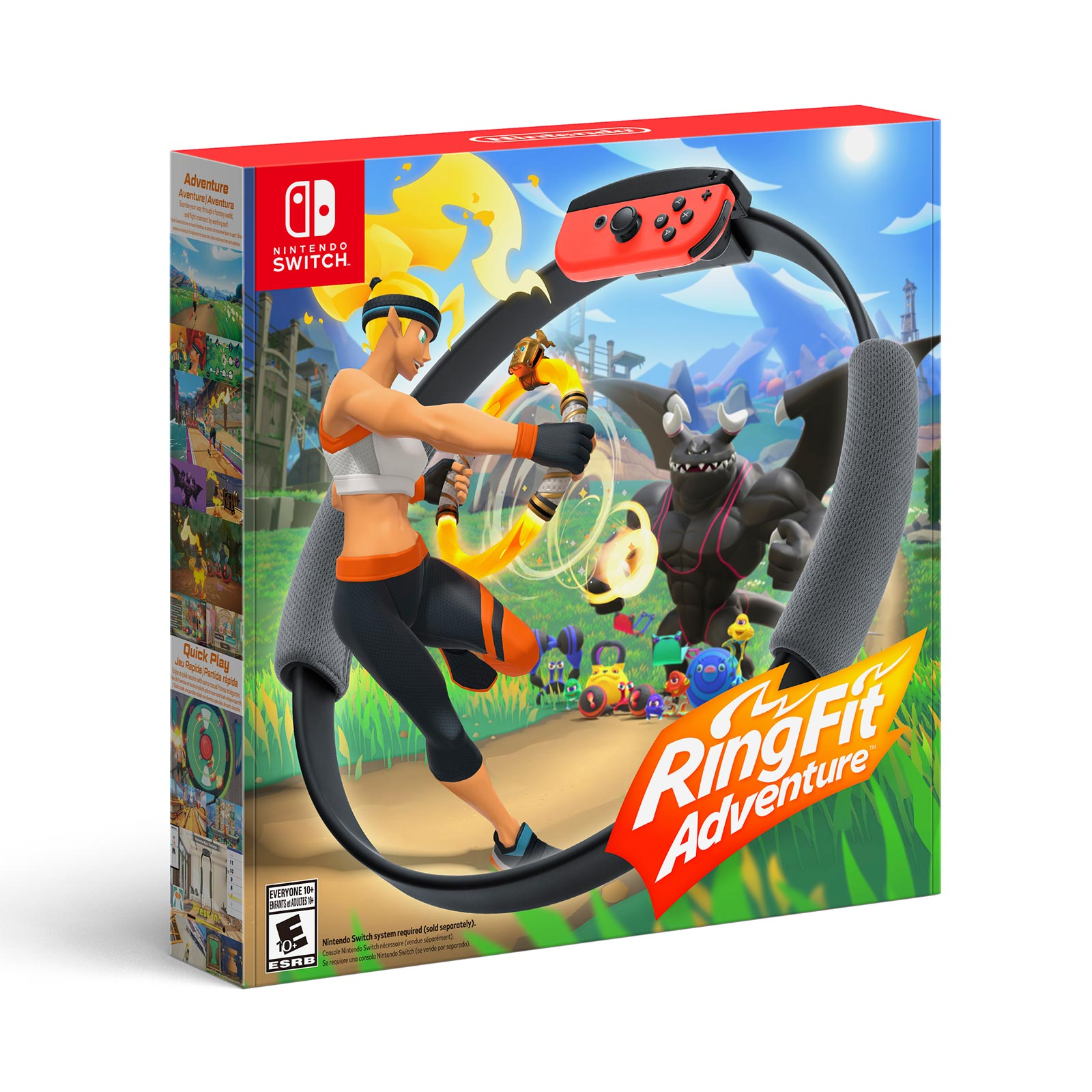 juego ring fit adventure nintendo switch