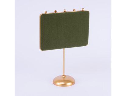 exhibidor-27-x-18-5-x-8-cm-con-cinco-soportes-rectangular-verde-dorado-7701016024105
